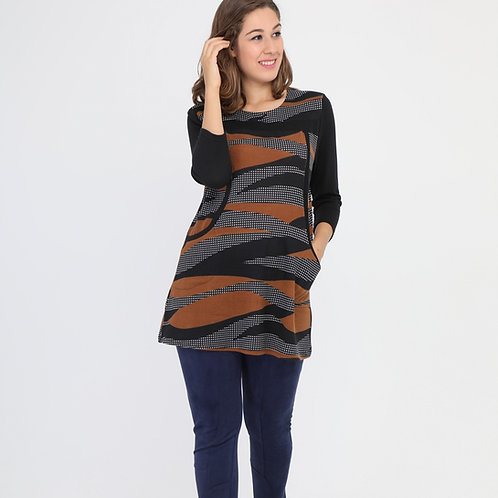 A-Line Tunic With Pockets