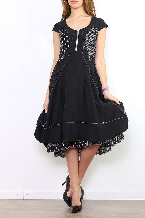 A-Line Dress With Adjustable Back Strap