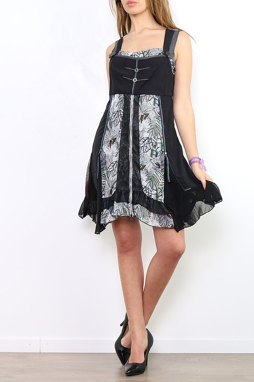 A-Line Dress With Lining