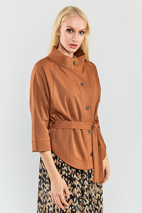Light Spring Jacket With Belt
