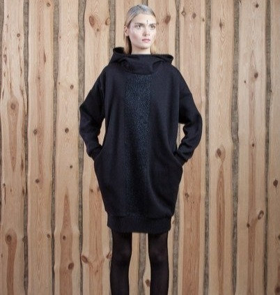 Hooded Sweater/Dress
