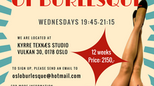 Oslo School of Burlesque FALL SEMESTER!