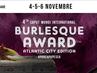 Caput Mundi Burlesque Award 2016