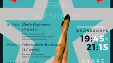 Oslo School of Burlesque Spring Semester 2019!