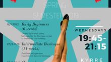 Oslo School of Burlesque Spring Semester 2019!