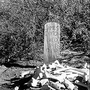 """""""JAMES DAYTON DIED 1898 R.I.P.""""...bones above ground, bones below. Surely this bone pile above ground wasn't James Dayton!"""
