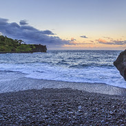 Evening Coming at Black Sand Beach