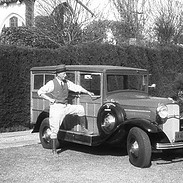 Walker and His `32 Ford Woody