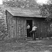 Mark Twain Cabin, Jackass Hill 1