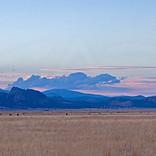 Sunset In Sierra Valley