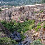 Upper Chico Creek Canyon