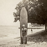 Waikiki Surfer Girl 1924