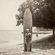 Waikiki Surfer Girl 1924