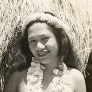 Hawaiian Beauty With Leis