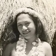 Hawaiian Beauty With Leis