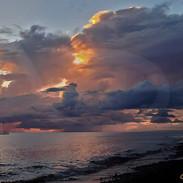 Sunset Ablaze