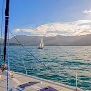 Sailing Kaneohe Bay