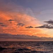 Sunset Off Oahu