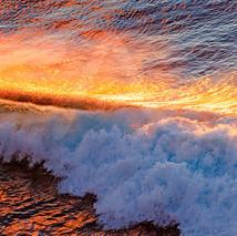Honolua Sunset Reflections