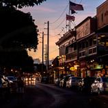 Sundown at Front Street