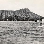Classic Diamond Head and Surfers