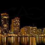 Waikiki at Night Lights
