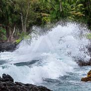 Keanae Wave Crash