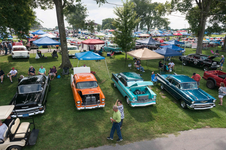 Owners and fans of 1955-1957 Chevrolets from around the country came out to Beech Bend Raceway for the third annual Tri-Five Nationals on Sat. Aug.12, 2017.