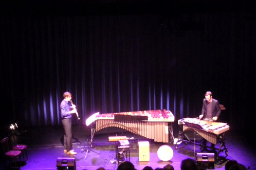 Duet for clarinet and vibraphone