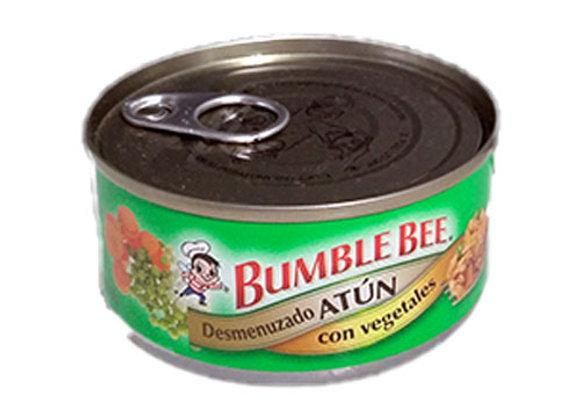 Atun desmenuzado con Vegetales Bumble Bee 142gr