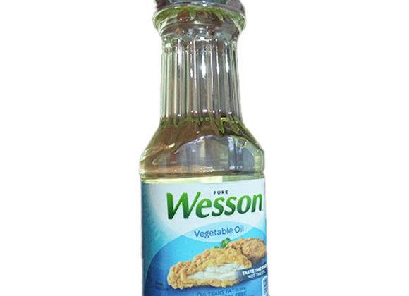 Aceite Vegetal Wesson 16oz