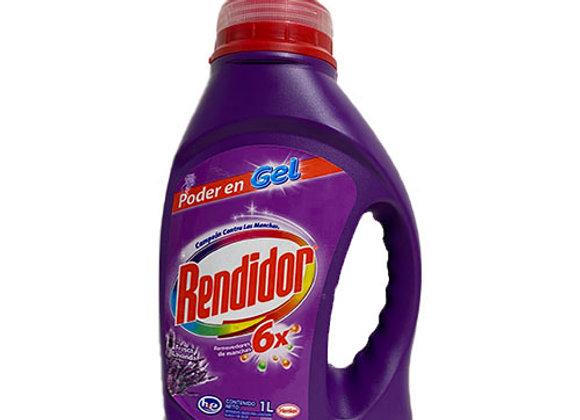 Detergente Liquido Lavanda Rendidor Gel 1lt