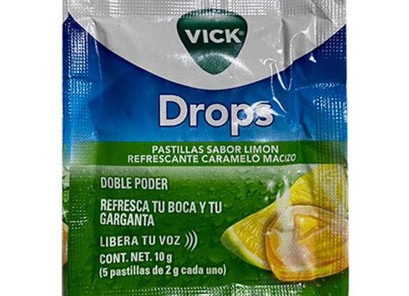 Vick Vaporub en Pastilla Limon