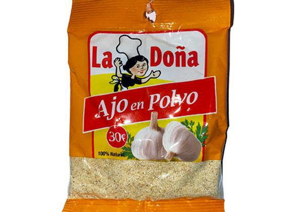 Ajo en Polvo La Dona (14gr)