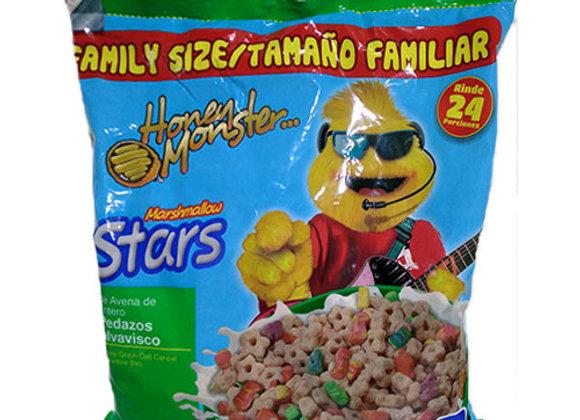 Honey Monster Marshmallow Stars Quaker