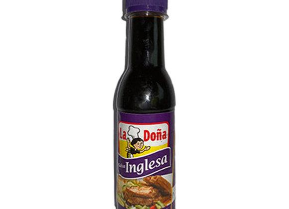 Salsa Inglesa Chica La Dona (5.5oz)