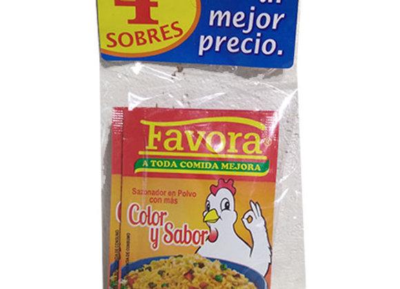 Color y Sabor Favora
