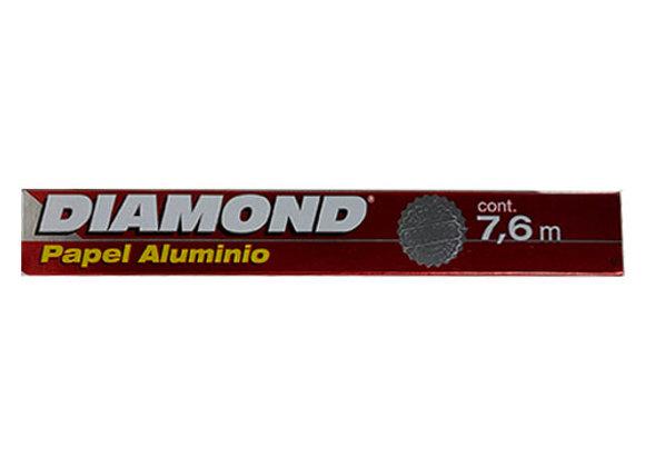 Papel Plateado Diamond