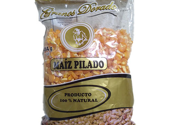 Maiz Pilado Granos Dorados