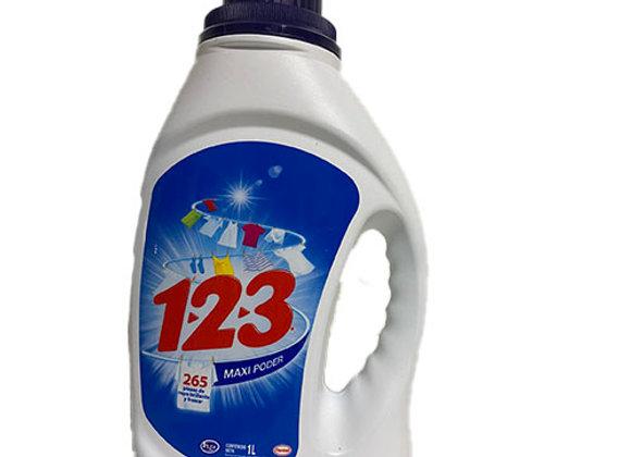 Detergente 123 Liquido 1000ml