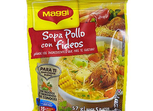 Sopa Pollo con fideos 57g