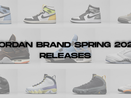 Jordan Brand Spring 2021 Releases