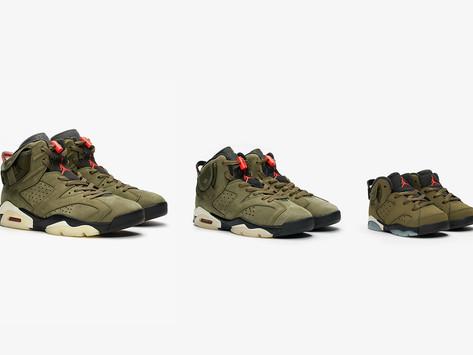 "Air Jordan 6 ""Travis Scott"" Full Store & Raffle List"