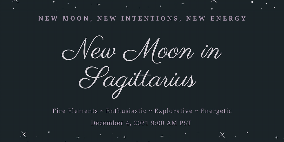 New Moon in Sagittarius Ritual Work Inside The Sanctuary