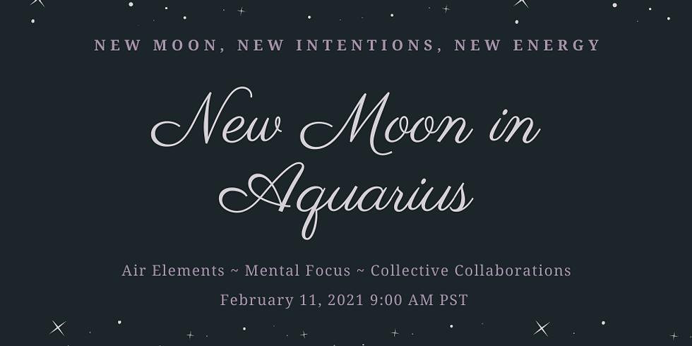 New Moon in Aquarius Ritual Work Inside The Sanctuary