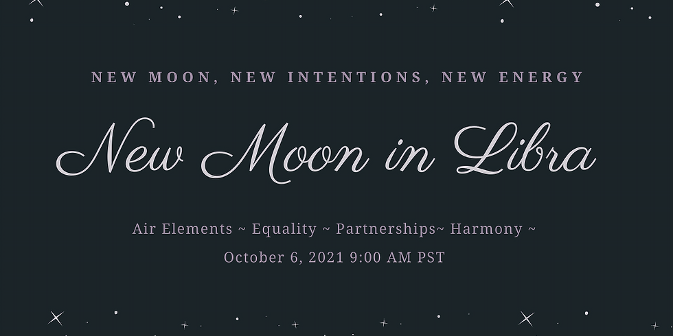 New Moon in Libra Ritual Work Inside The Sanctuary