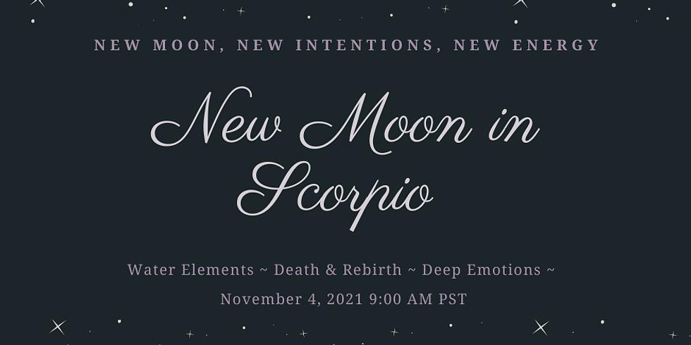 New Moon in Scorpio Ritual Work Inside The Sanctuary