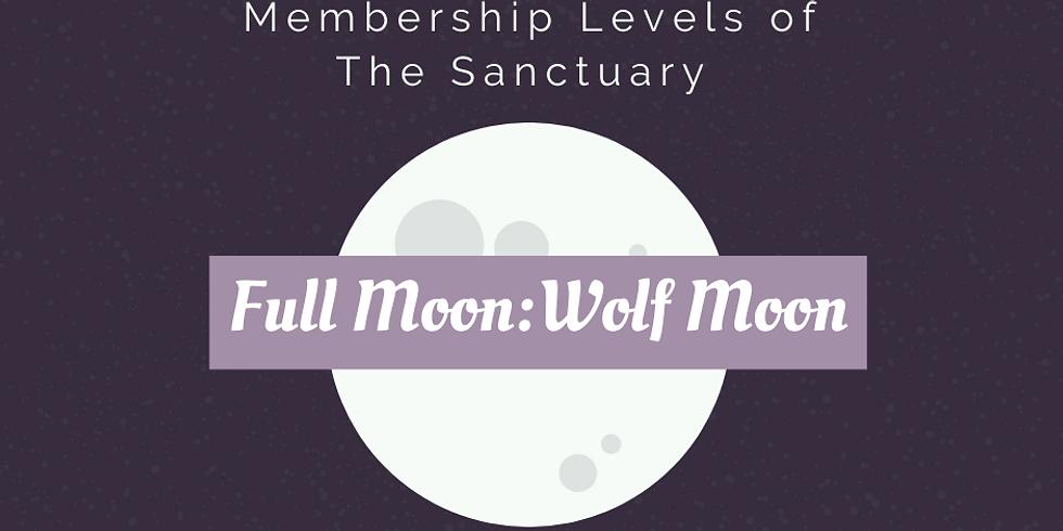 Full Moon: Wolf Moon Ritual Work Inside The Sanctuary