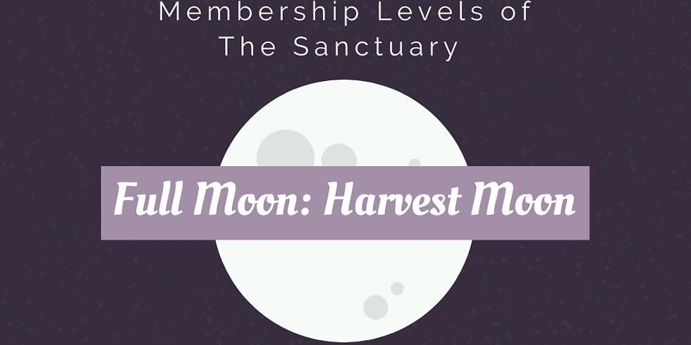 Full Moon: Harvest Moon Ritual Work Inside The Sanctuary