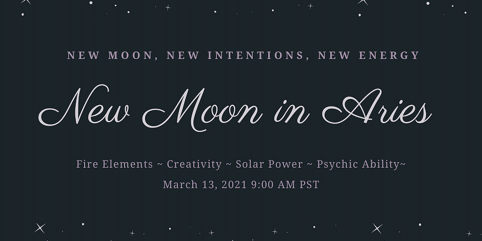 New Moon in Aries Ritual Work Inside The Sanctuary